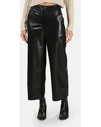 Nanushka Africa Wide Leg Trousers - Black
