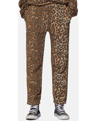 NSF Clarence Track Trousers - Brown