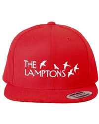 Blue & Cream - Lamptons Snapback Red - Lyst