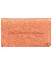 3.1 Phillip Lim Pashli Cell Wallet - Orange