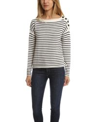 ATM | Atm Striped Sailor Sweater | Lyst
