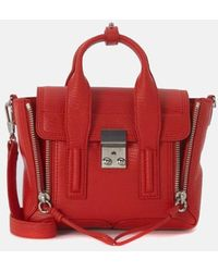 3.1 Phillip Lim Pashli Mini Satchel Bag - Red