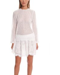 Roseanna Maggie Chase Top - White