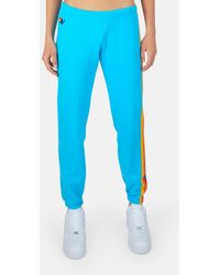 Aviator Nation 5 Stripe Sweatpant - Blue
