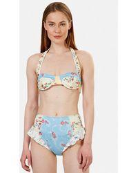 LoveShackFancy Kimberly Bikini Set Swimwear - Multicolor