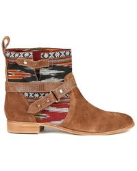 0f543df0857 Cynthia Vincent - West Ikat Engineer Boot - Lyst