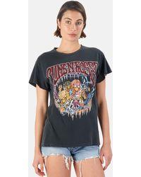MadeWorn Guns N' Roses Tokyo '93 T-shirt - Blue