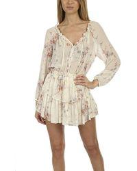 LoveShackFancy Popover Dress - Natural