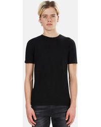V :: Room Vintage Basic Crew T-shirt - Black