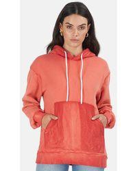 Cotton Citizen Brooklyn Pullover Hoodie Jumper - Red