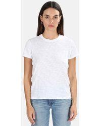 ATM Schoolboy Crewneck Classic T-shirt - White