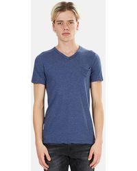 V :: Room - V Neck Pocket T-shirt - Lyst