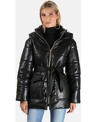 Nanushka Lenox Puffer Jacket - Black