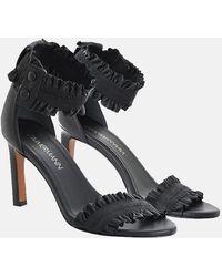 Zimmermann Elastic Strap Sandal Shoes - Black