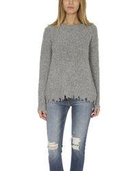 ATM - Atm Alpaca Crewneck Sweater - Lyst