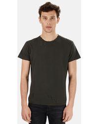 R13 Destroyed T-shirt - Black