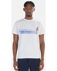 President's Mirage Surfer Graphic T-shirt - White