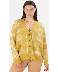 RE/DONE 90s Oversized Cardigan Sweater - Yellow