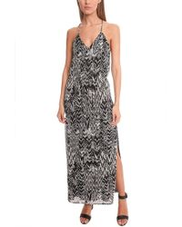 IRO Dahlia Ikat Print Dress - Black