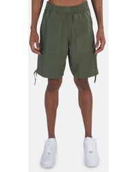 Stone Island Stretch Cotton Shorts - Green