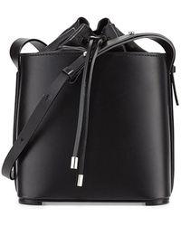 3.1 Phillip Lim Hana Drawstring Bucket Bag - Black