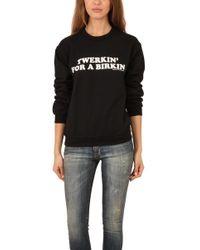 Brian Lichtenberg Twerkin Berkin Sweatshirt - Black