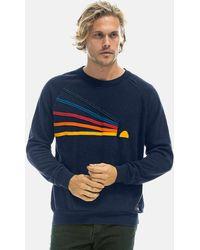 Aviator Nation Daydream Sweatshirt Jumper - Blue