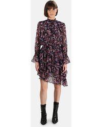 MISA Los Angles Savanna Dress - Purple