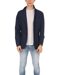Aspesi Jacques Cotton Shirt Jacket - Blue