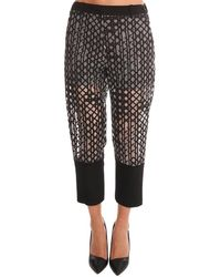 3.1 Phillip Lim Organza Trousers - Black