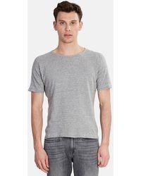 V :: Room Basic Crew T-shirt - Gray