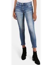 Moussy Vintage Velma Skinny Jeans - Blue
