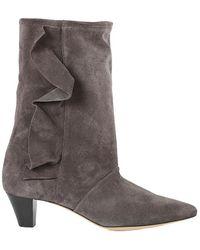IRO Fabita Bootie Shoes - Grey