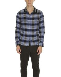 Yigal Azrouël Yigal Azrouel Flannel Shirt Blue Plaid