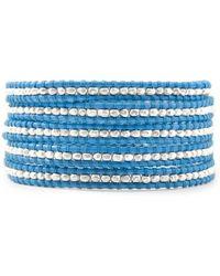 Chan Luu Blue Wrap Bracelet