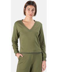 L'Agence Helena Sweatshirt Jumper - Green