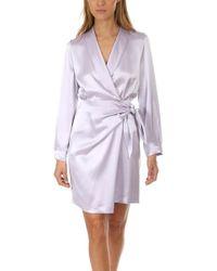 Nanushka Siwa Dress - Purple