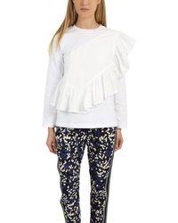 3.1 Phillip Lim Flamenco T-shirt - White