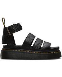 Dr. Martens Clarissa Ii Quad Platform Sandals - Black