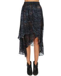 IRO Elook Skirt Blue/multi