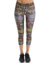 Terez Emoji Capri Trousers - Multicolour