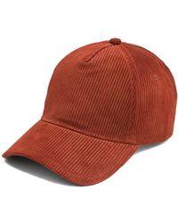 3ad373694e0 Rag   bone Marilyn Baseball Cap in Blue for Men