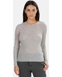 NSF Zuli Crewneck Sweater - Gray