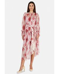 Zimmermann Wavelength Asymmetric Dress - Multicolor