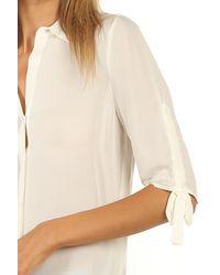 L'Agence Isa Blouse Ivory - White