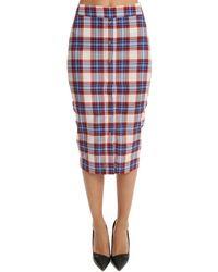 Roseanna Pix Taco Skirt - Blue