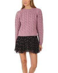 LoveShackFancy Rosie Sweater - Pink