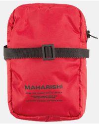 Maharishi Ma Side Bag - Red