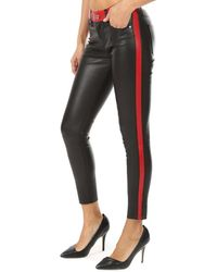 RTA Ryland Leather Pants - Black