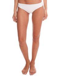 Tori Praver Swimwear Hoku Bottom Swimwear - White
